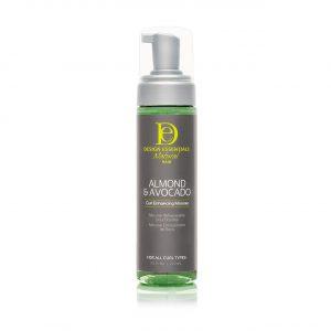 Natural Almond & Avocado Curl Enhance Mousse 7.5oz
