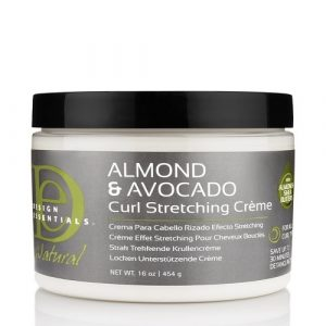 Almond & Avocado NAT CURL STRETCHING CRÈME 16OZ